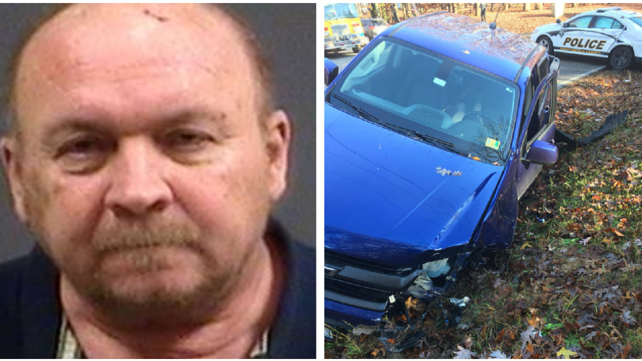 Police: Drunk driver slams into Chesterfield Police cruiser, officerinjured