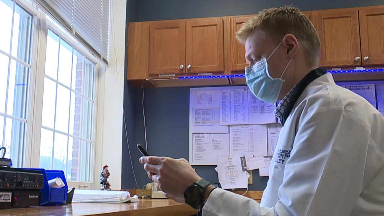 Virtual visits in ambulances
