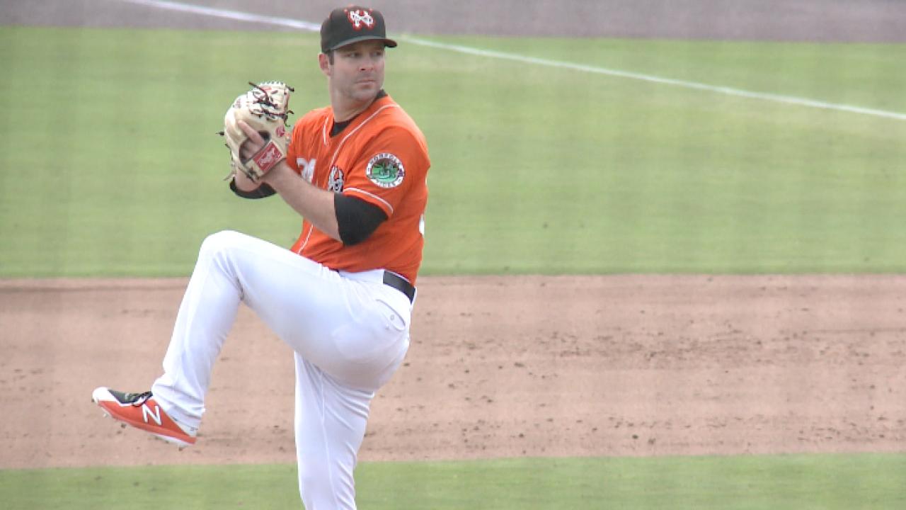 Relief pitcher, dream catcher: Matt Wotherspoon's unique baseballjourney