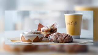 McDonald's adding blueberry muffins, cinnamon rolls, apple fritters to its breakfast menu