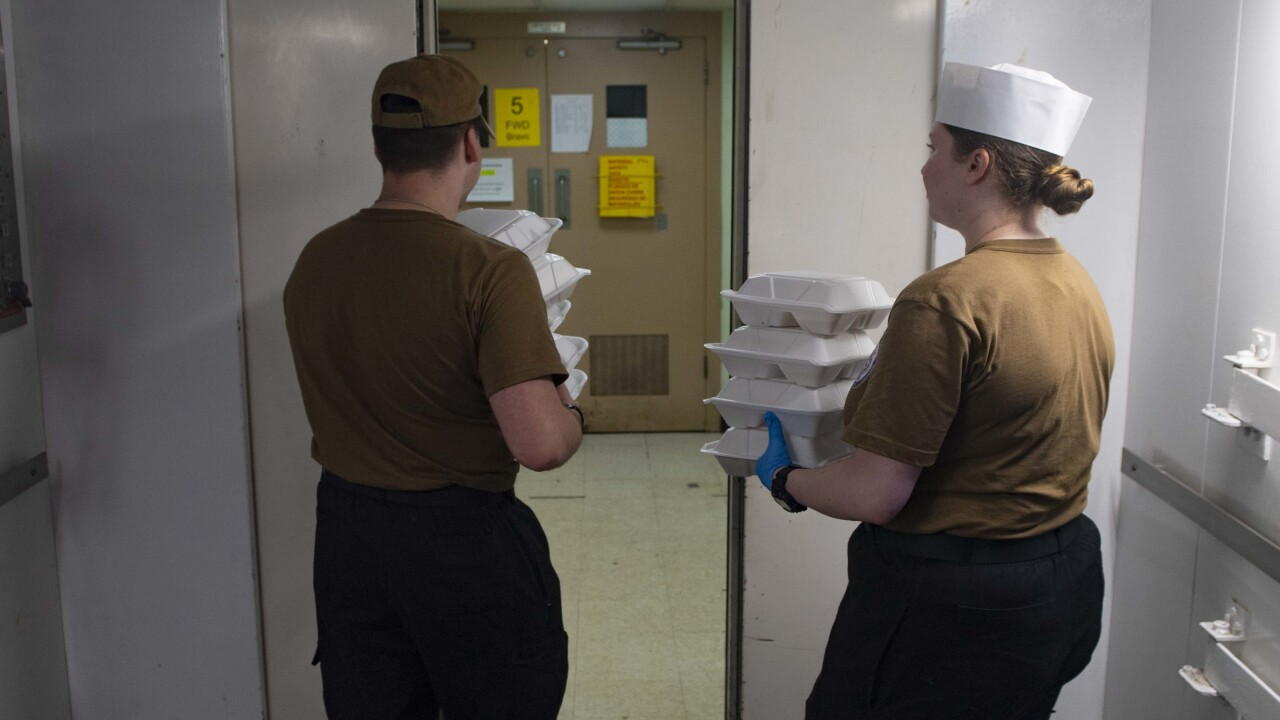 USNS Comfort Galley Accommodates Patient Dietary Requirements in New York City