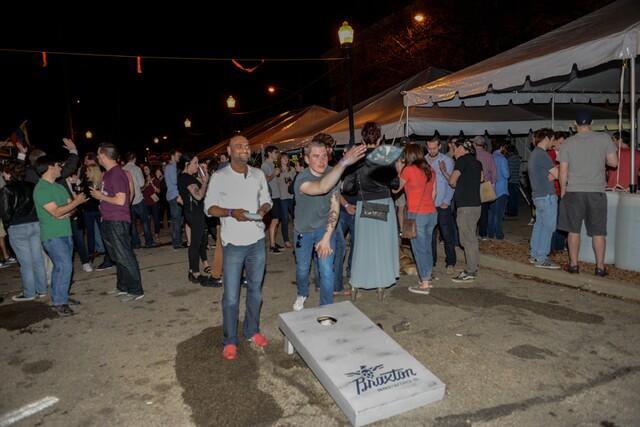 Braxton Brewing's anniversary block party
