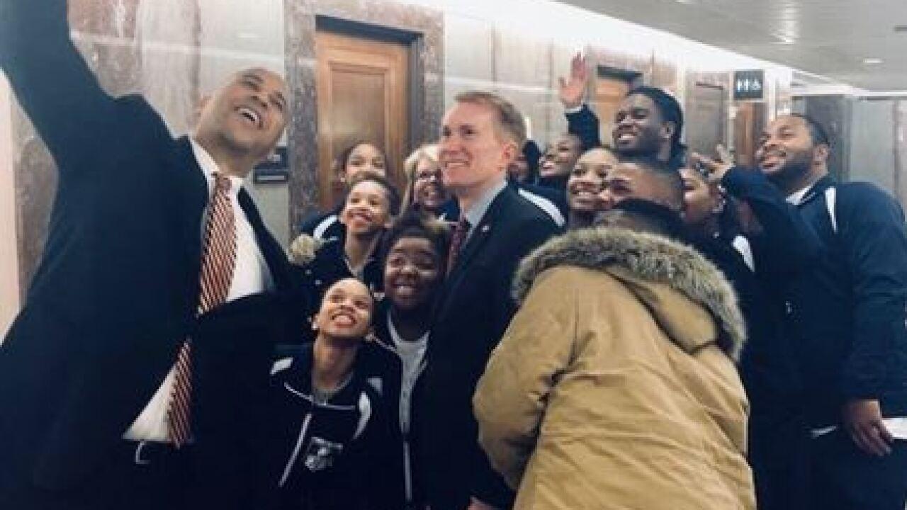 Oklahoma students visiting Washington D.C.