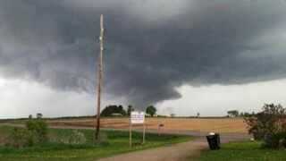 Deadly tornado rips through Barron County