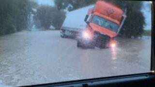 Flooding in Ville Platte