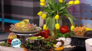 Miss Daisy's Curried Shrimp Salad With Avocado Salad Dressing
