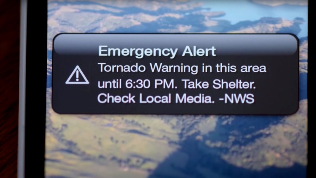 During late night storms, phone alerts are saving lives