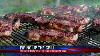 Grilling red meat could be more dangerous than slow cooking