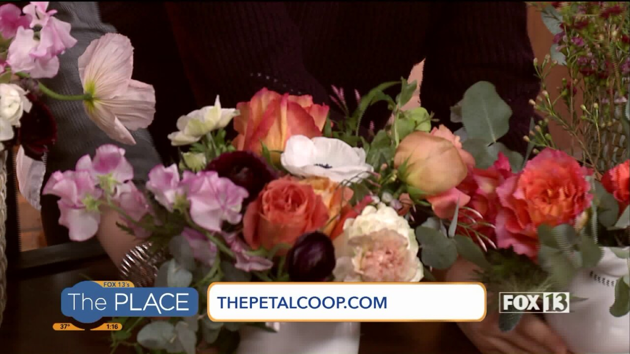 3 Steps to this DIY Floral Arrangement Perfect for Valentine's Day