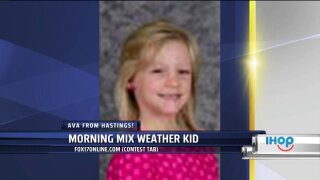 Morning Mix Weather Kid – Ava