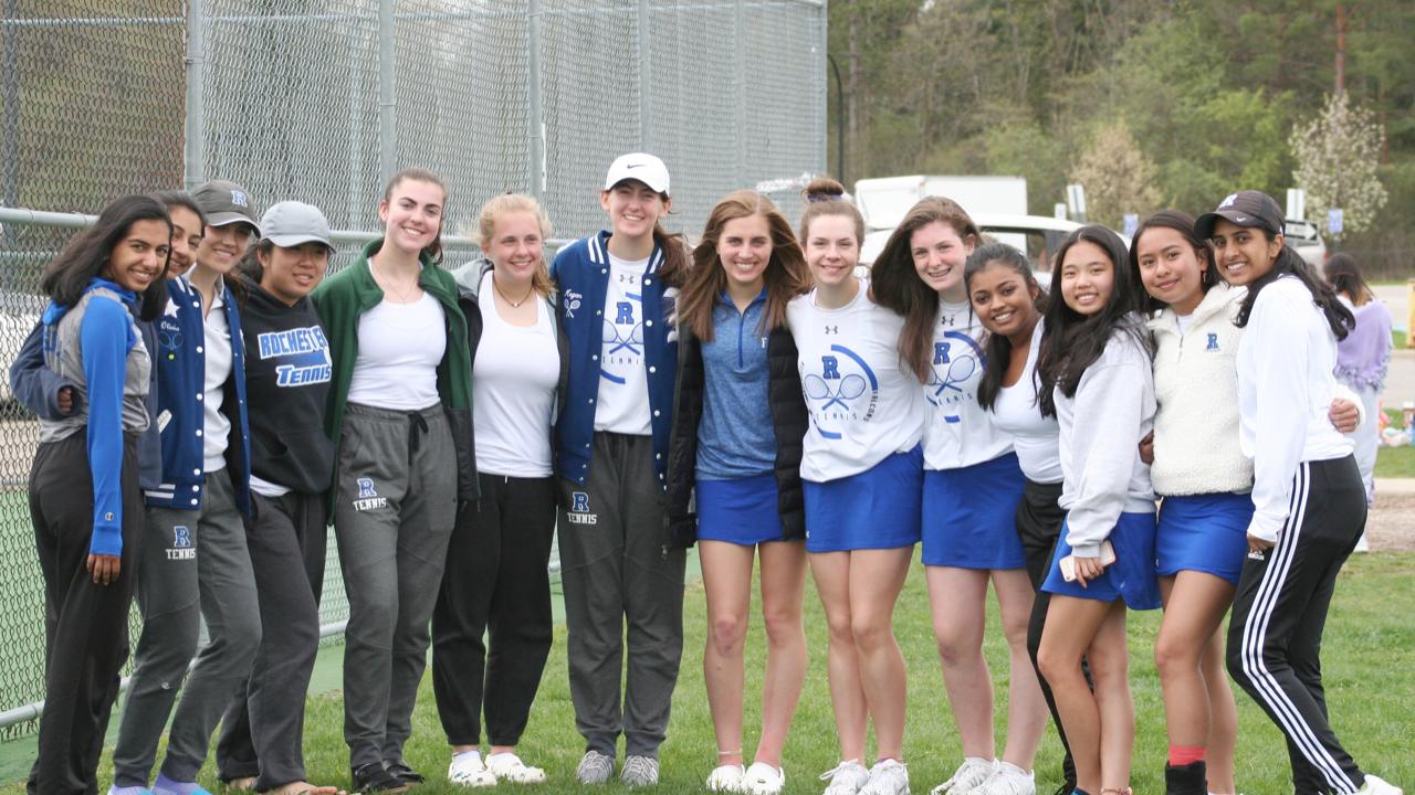 Rochester High tennis
