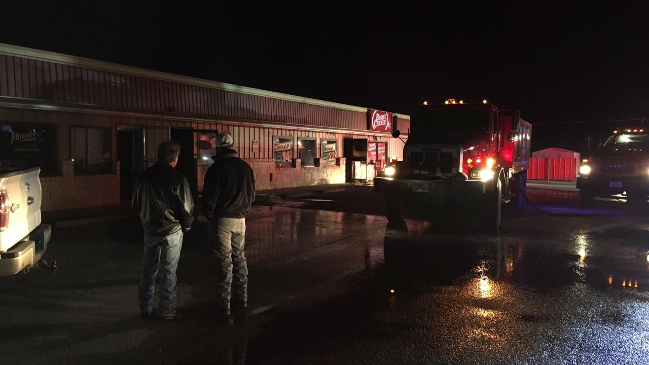 Firefighters investigating cause of Bush's Chicken fire