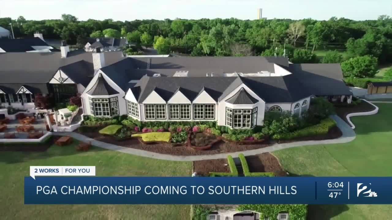 PGA Championship coming to Southern Hills Country Club