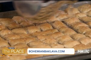 Look for this mom's eclectic flavors of Baklava all around Salt LakeCity
