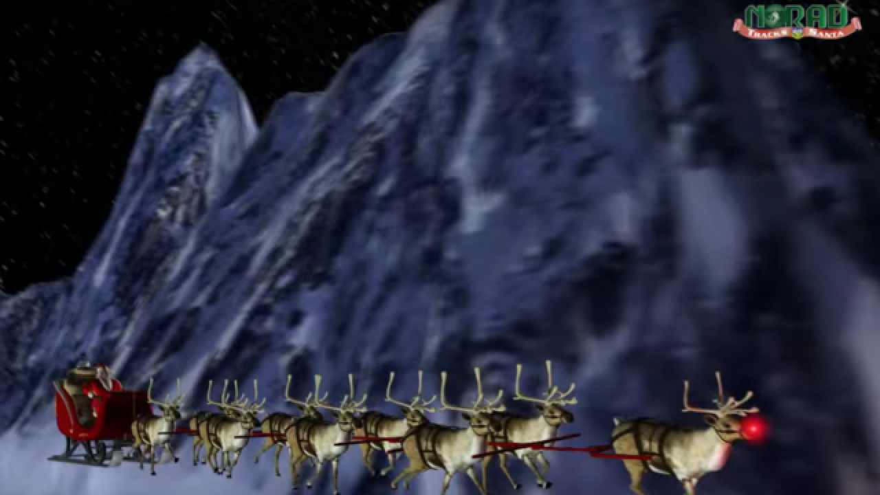 SANTA TRACKER: Follow Old St  Nick around the globe