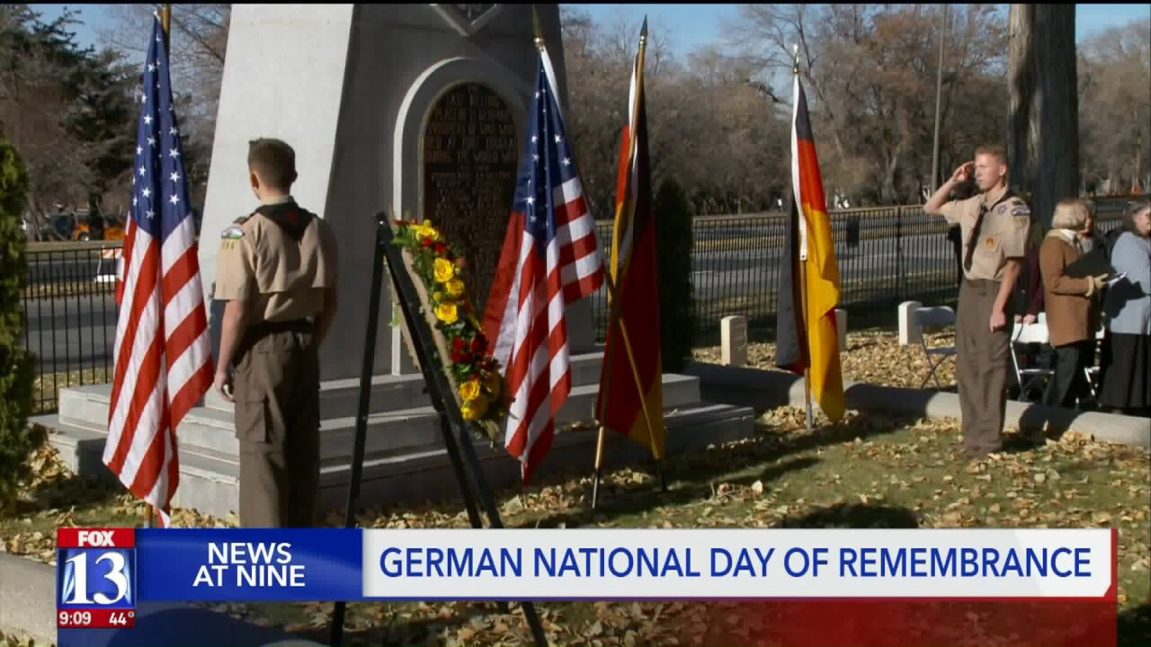 Remembering lives lost at German National Day of Remembrance