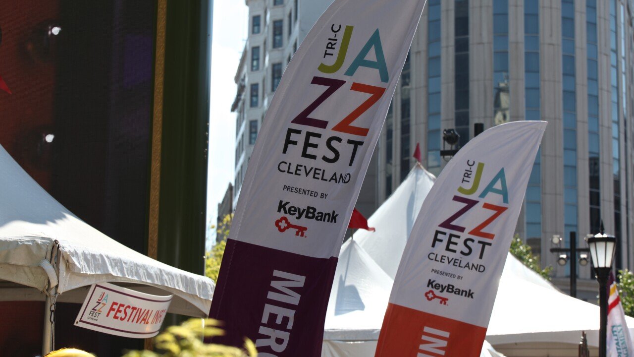 2018 JazzFest Outside Banners.JPG