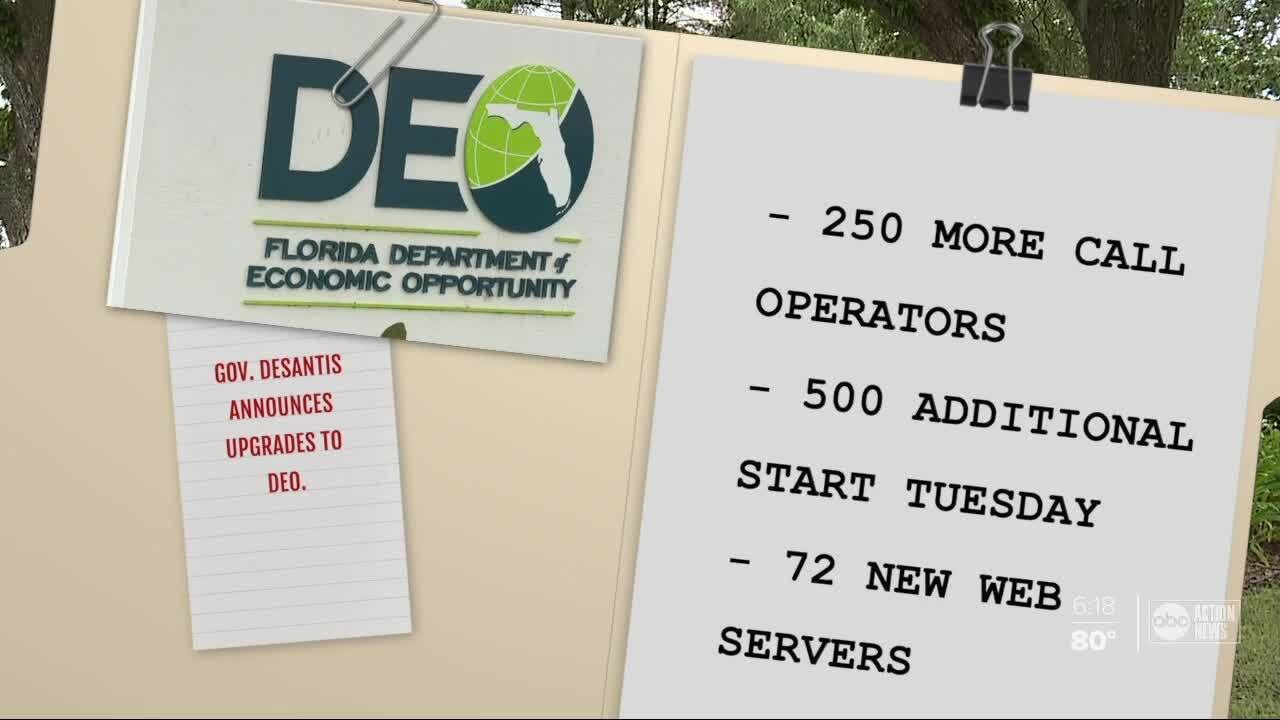 Florida unemployment system upgraded, DEO now faces backlog of claims