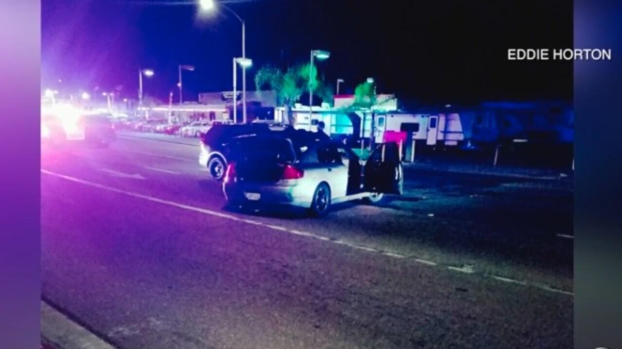 Man crashes into police car during La Mesa chase