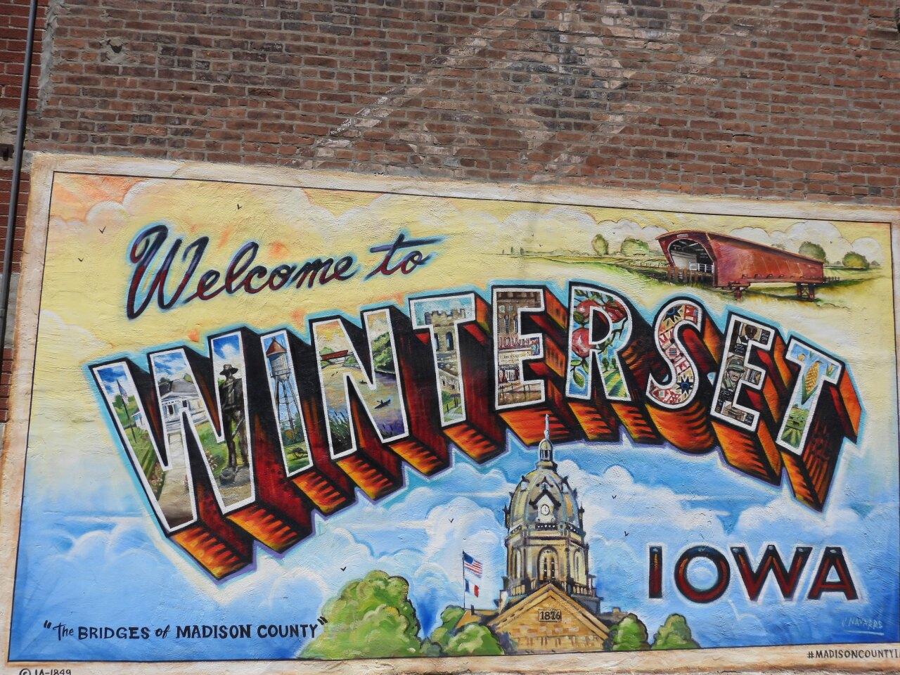 Winterset mural