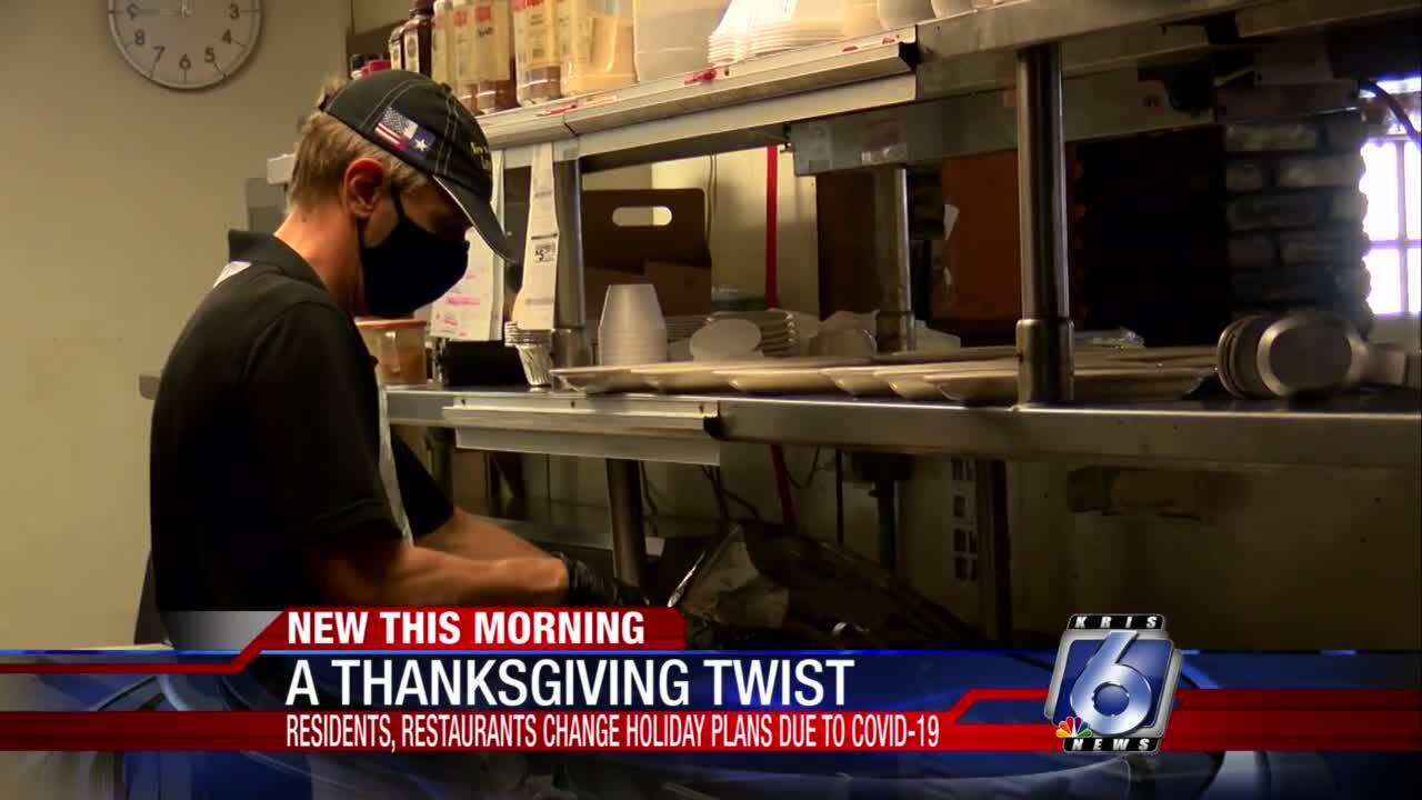 Restaurants are bracing for heavy takeout business over the Thanksgiving holidays