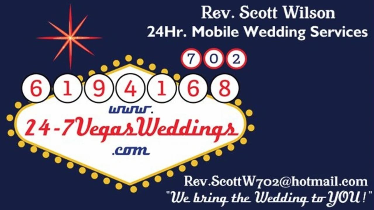 24/7 vegas weddings