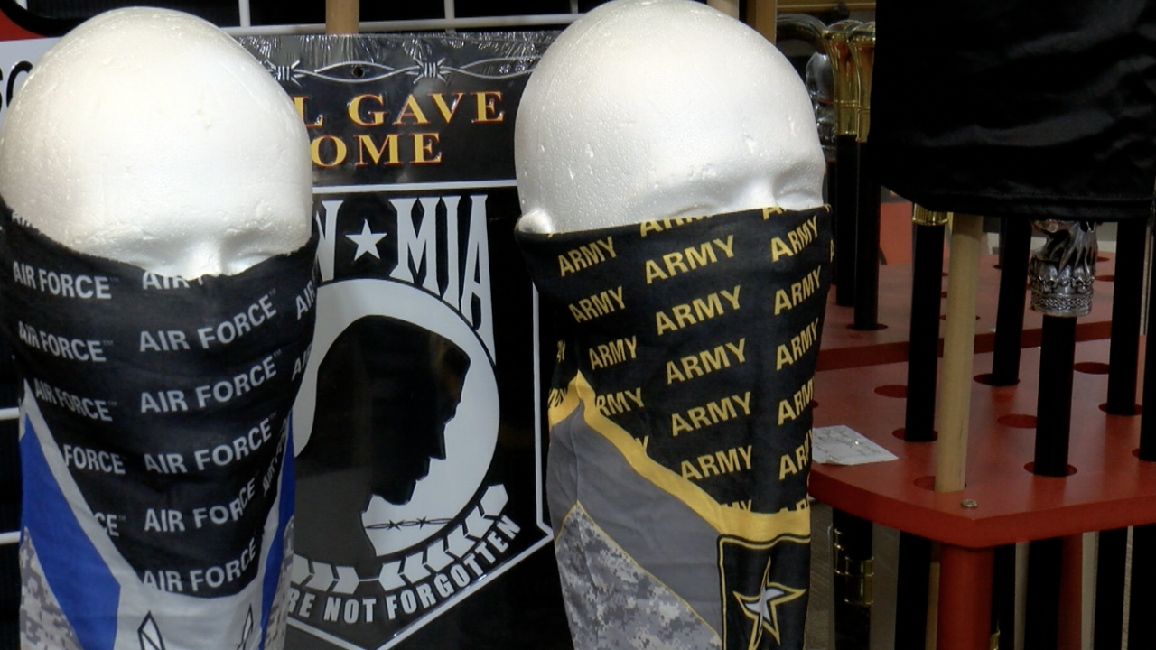 War & Peace Limited reopen with new merchandise designed to keep a safe community.