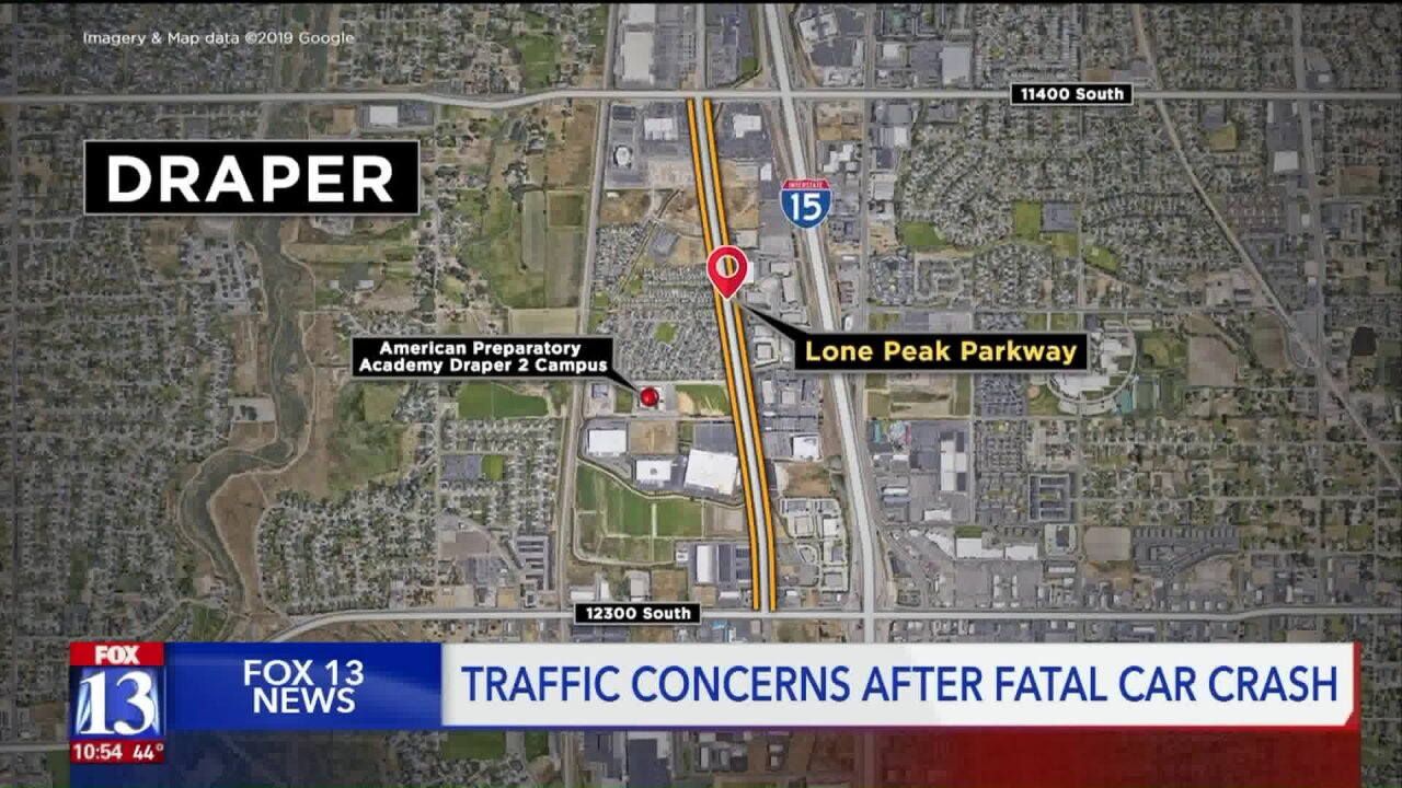 Draper residents call for change after accident on Lone PeakParkway