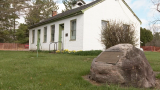 WCPO one-room schoolhouse.png