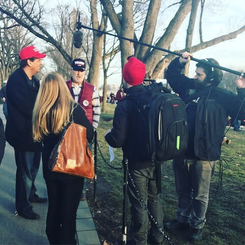 Trump Welcome Concert at Lincoln Memorial