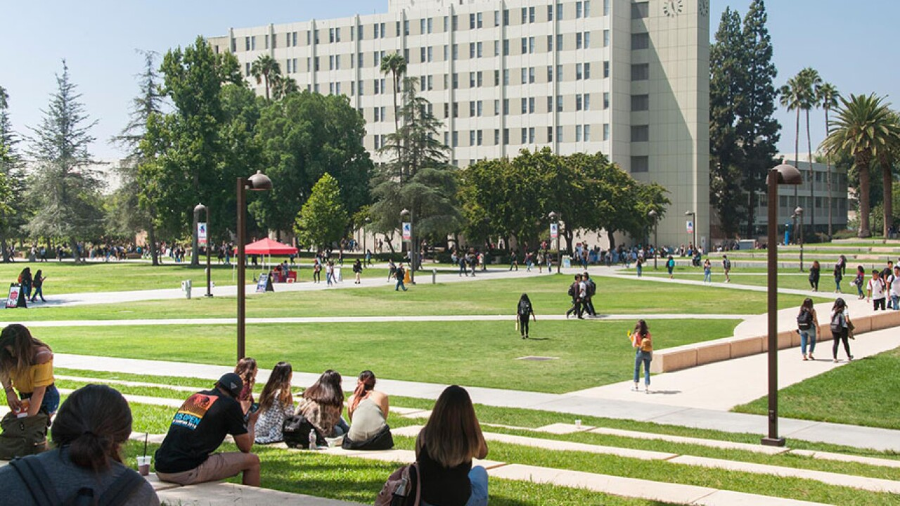 Cal State Northridge campus