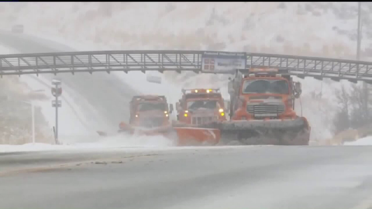 Snow removal budgets in Utah melting away in face of recent storms