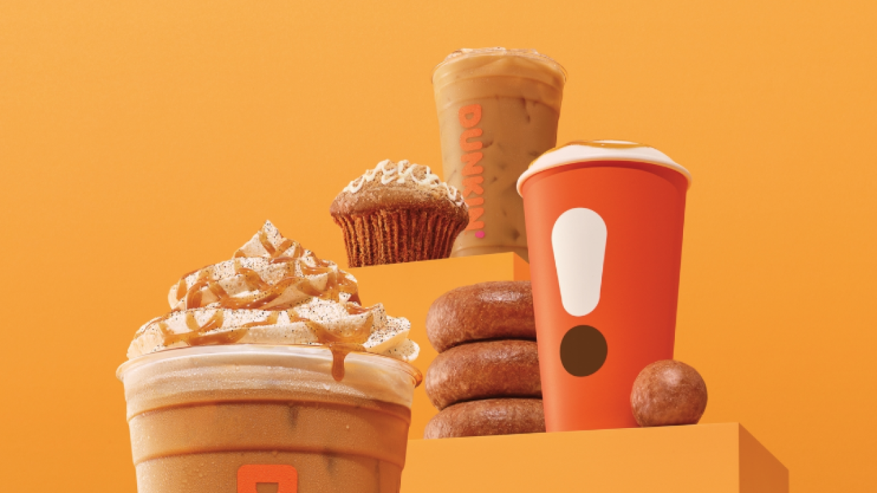 Fall comes early this year. Dunkin; to release pumpkin spice products next week