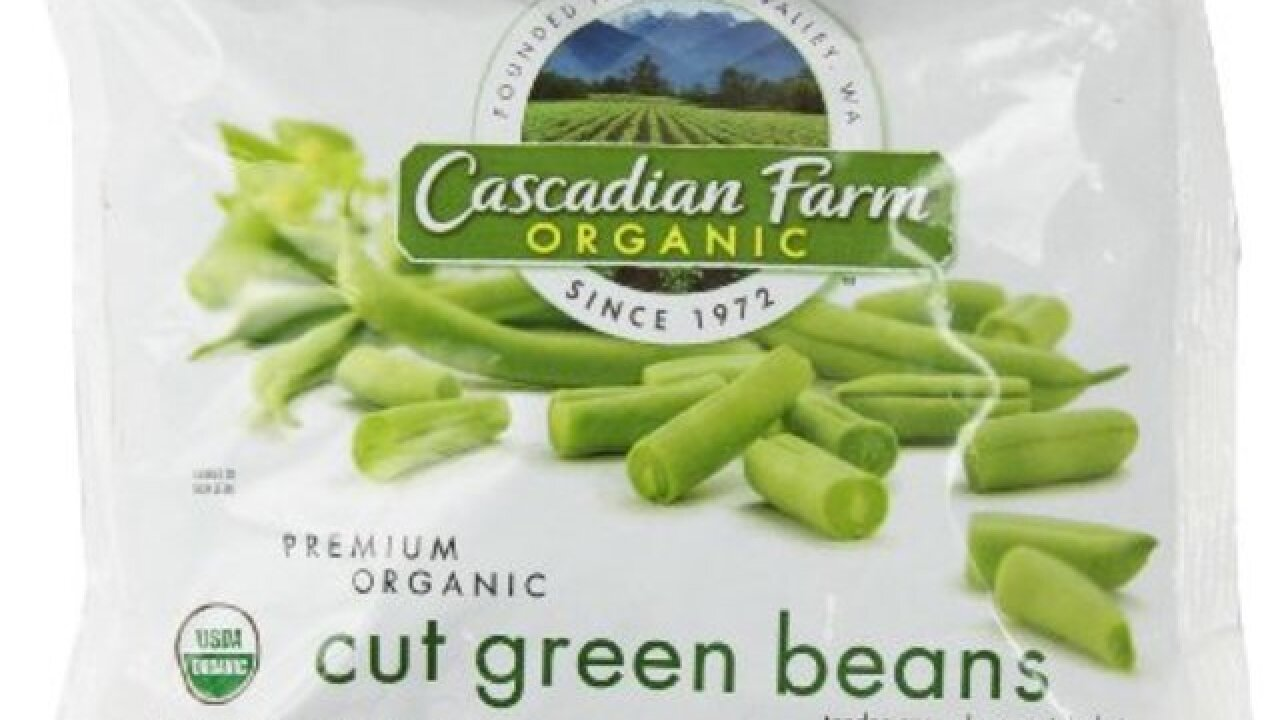 Frozen green bean recall