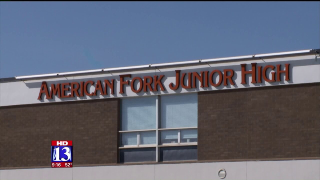 Teen facing charges after posting photo of classmate showering at American Fork Jr.High