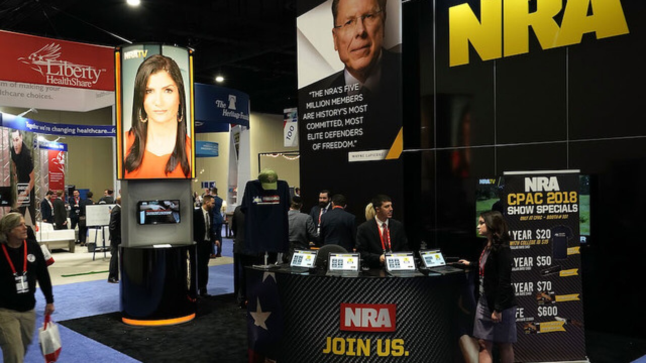 NRA loses more than a dozen corporate partners
