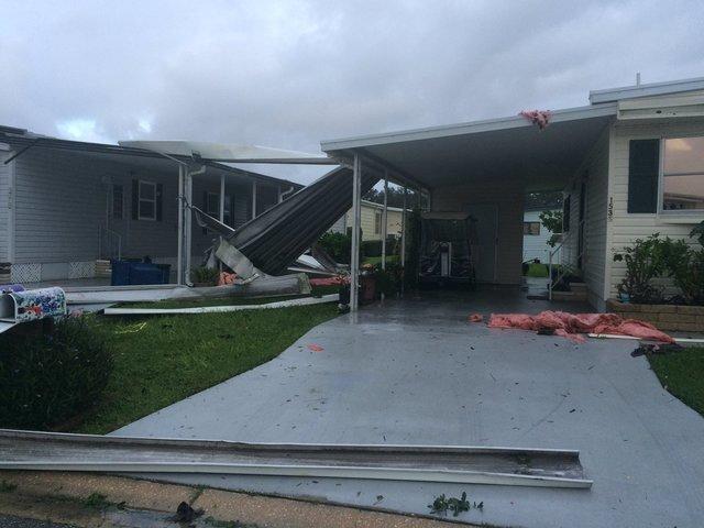 PHOTOS: Hurricane Irma causes destruction across Tampa Bay