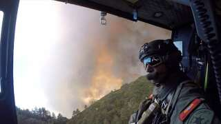Containment grows for California wildfire