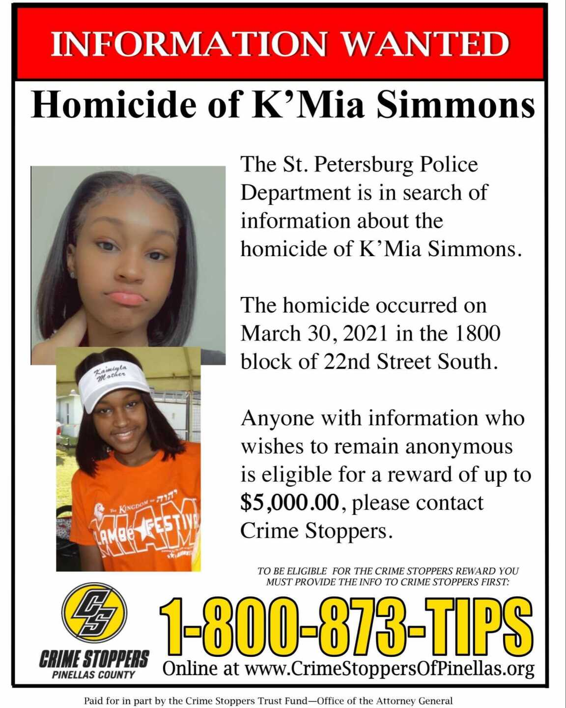 k'mia simmons flyer