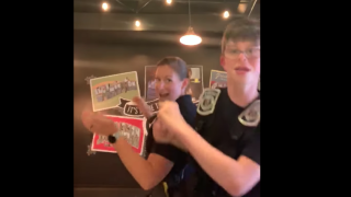 Anne Arundel County Police Corporal bonds with student through dance parties