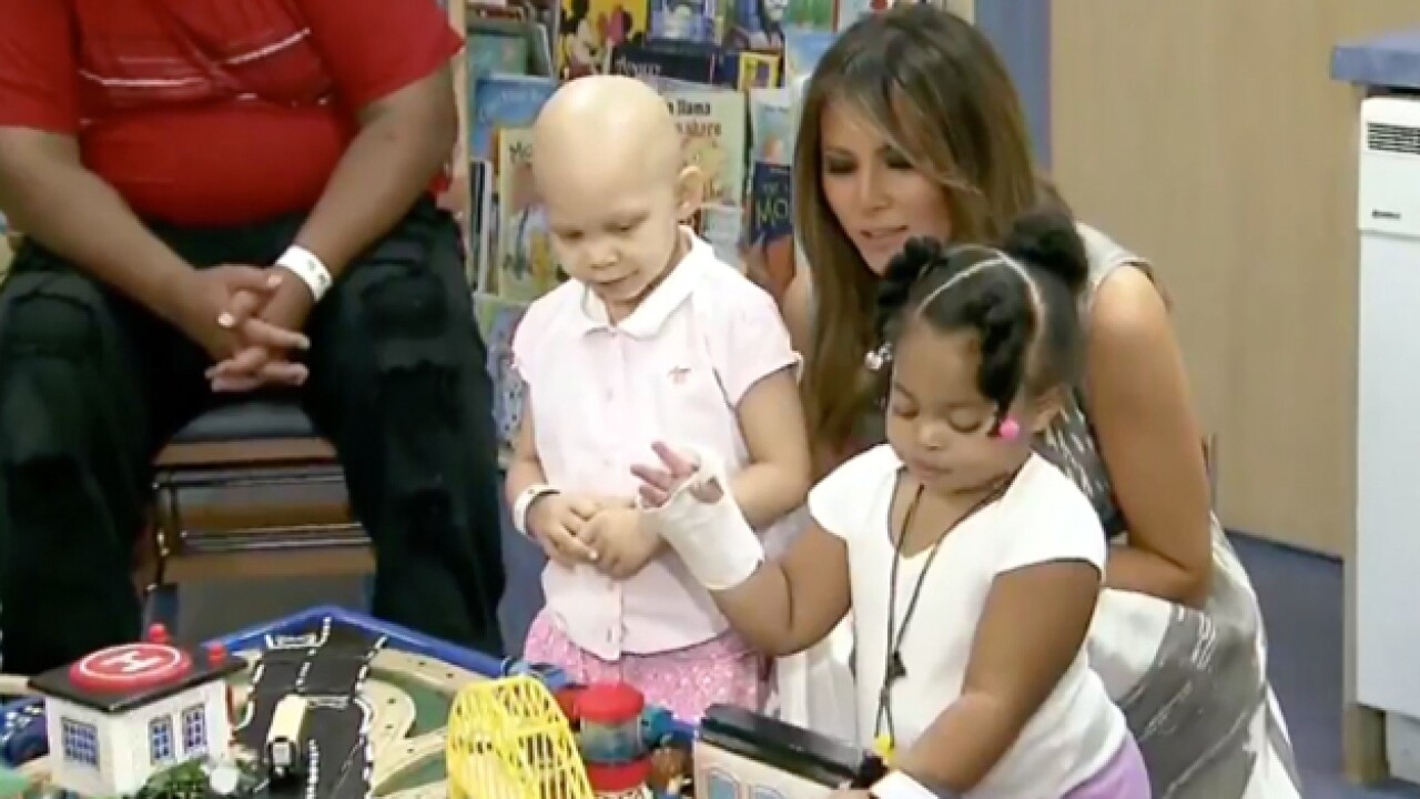 First Lady Takes 'Be Best' Campaign To Vanderbilt