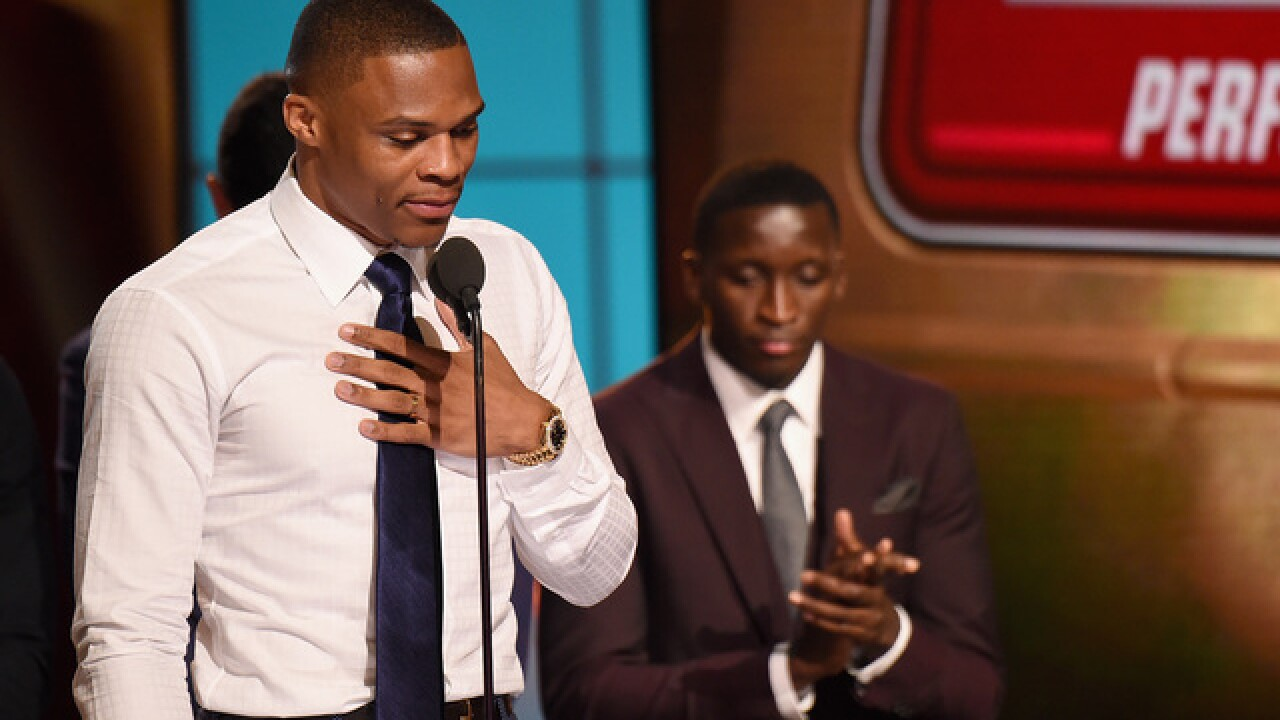 Michael Jordan, Kevin Durant congratulate Russell Westbrook on MVP award