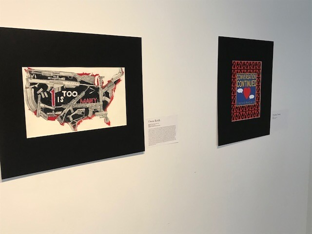 GALLERY: #NeverAgain Art Show debuts in Denver