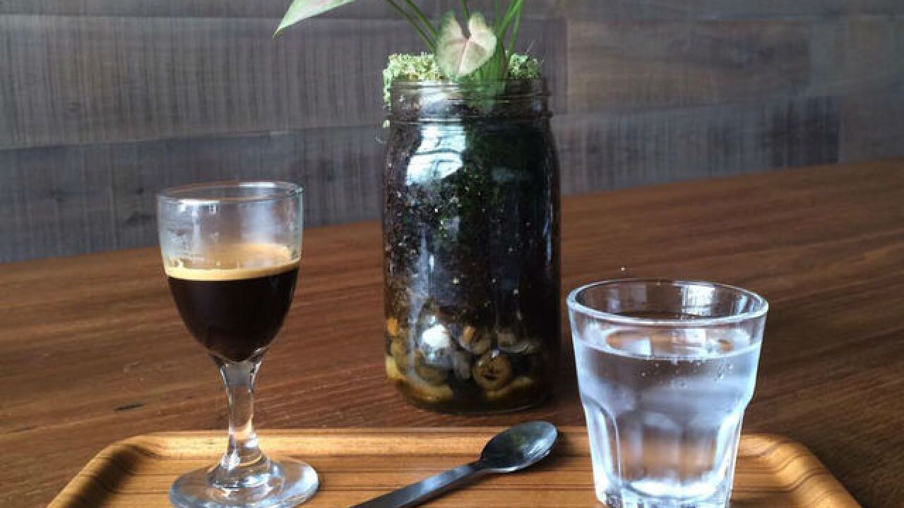 Coffee shops put creative spin on iced drinks