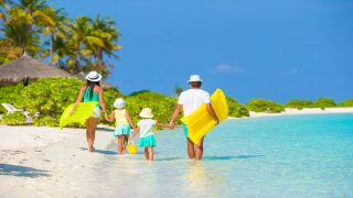 Submit your kid's drawing for a chance to win a $10,000 family vacation