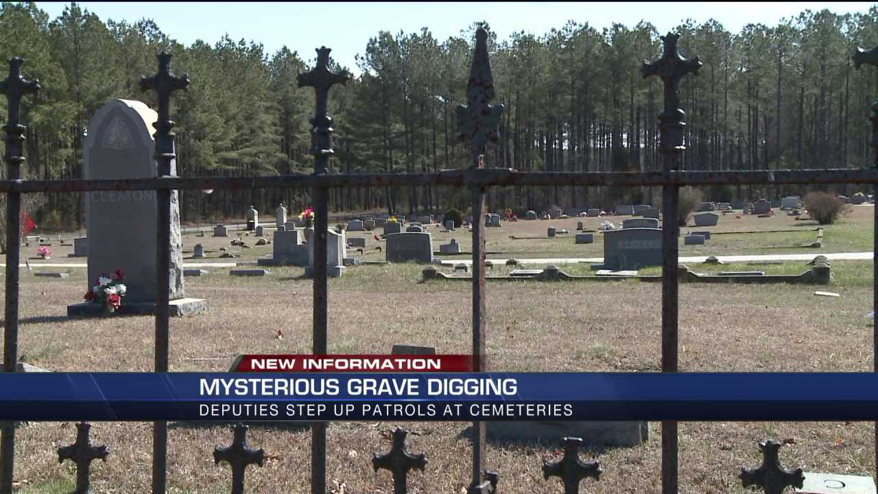 UPDATE: Sheriff warns neighboring counties to check graveyards