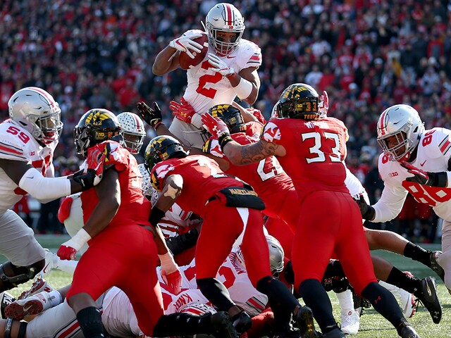 PHOTO GALLERY| Ohio State Buckeyes defeat Maryland Terrapins 52-51 in overtime