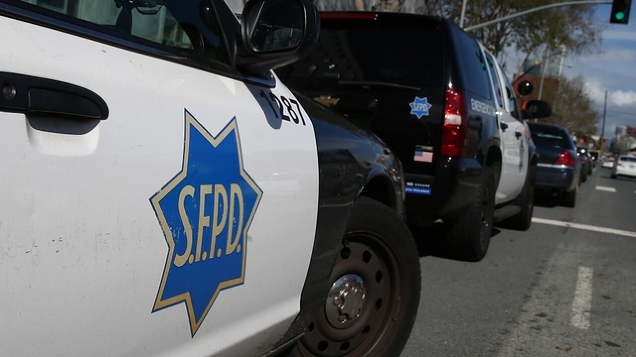 Man suspected in San Francisco officer's shooting dies