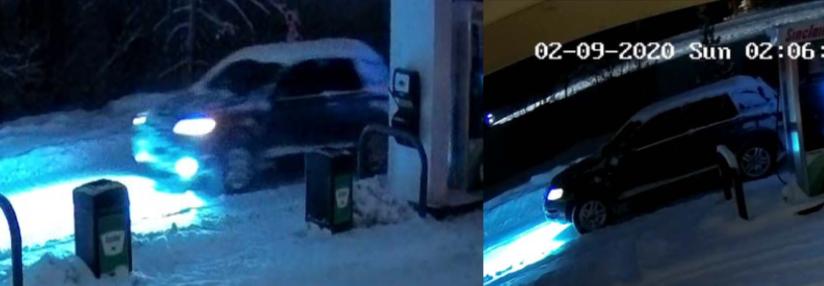 Car wanted in Breckenridge hit and run_Feb 9 2020