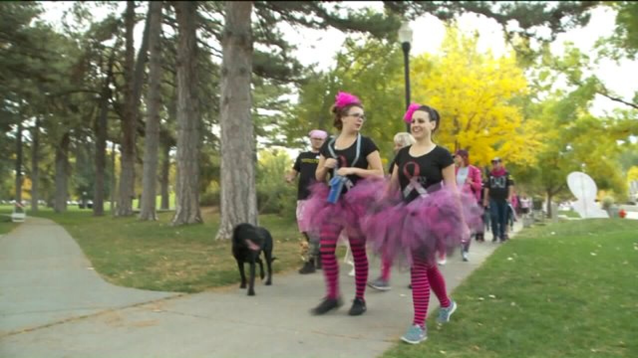 Utahns walk to raise funds for fight against breast cancer
